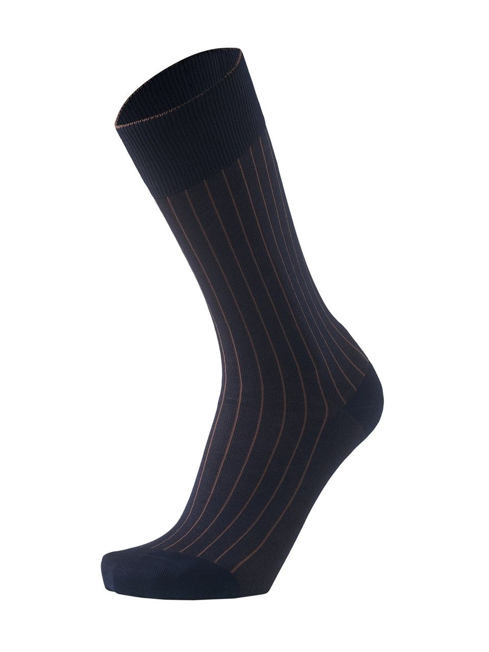 Picture of 2-Color Ribbed Blue/Brown